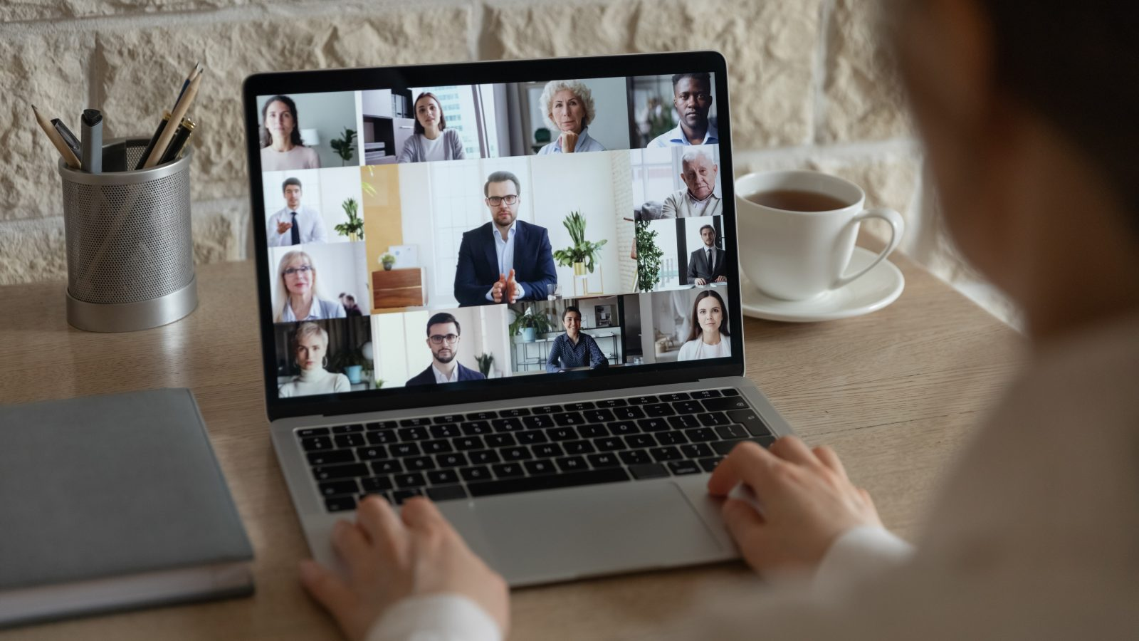 Workplace Wellness zoom meeting